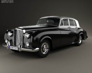 3D model of Bentley S1 1955