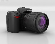 3D model of Nikon D7000