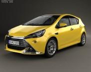 3D model of Toyota Aqua G Sports 2013