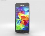 3D model of Samsung Galaxy S5 mini Charcoal Black