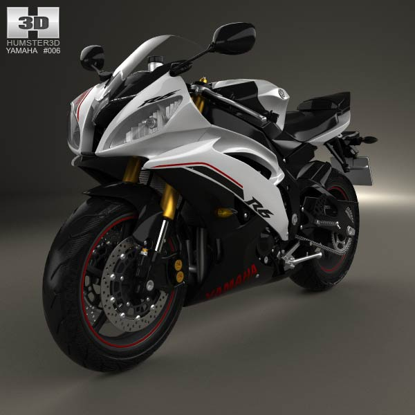 yamaha r6 black 2014 - photo #31