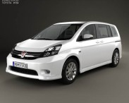 3D model of Toyota Isis 2012