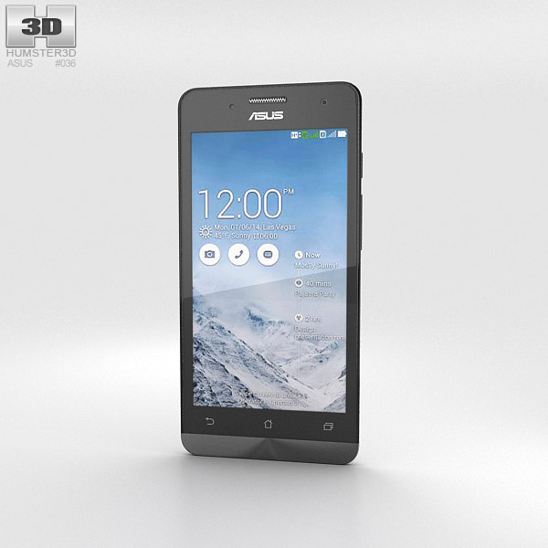 3D model of Asus Zenfone 5 Pearl White