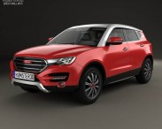 3D model of Great Wall Haval H7 2014