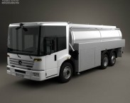 3D model of Mercedes-Benz Econic Tanker Truck 2013