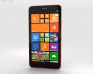 3D model of Nokia Lumia 1320 Red