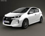 3D model of Toyota Aqua Premi 2013