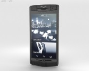 3D model of Vertu Signature Touch Pure Jet Leather
