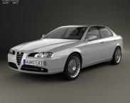 3D model of Alfa Romeo 166 2003