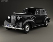 3D model of Buick Roadmaster 1936