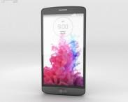 3D model of LG G3 S Metallic Black