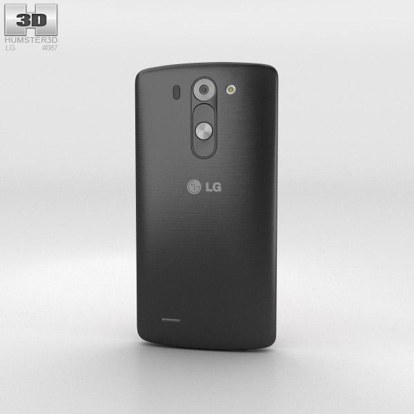 LG G3 S Metallic Black 3D model - Humster3D