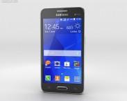 3D model of Samsung Galaxy Core II Black