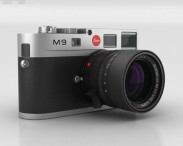 3D model of Leica M9 Steel Gray