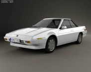 3D model of Subaru XT 1985
