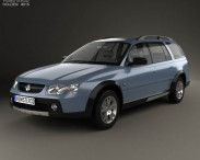 3D model of Holden Adventra LX6 (VZ) 2005