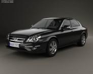 3D model of Hyundai Sonata Moinca (CN) 2009