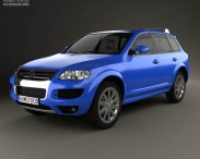 3D model of Volkswagen Touareg R50 2007