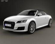3D model of Audi TT (8S) roadster 2014