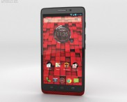 3D model of Motorola Droid Ultra Red