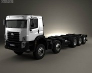 3D model of Volkswagen Constellation Chassis Truck 2013