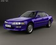 3D model of Acura Integra 1990