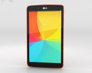 3D model of LG G Pad 8.0 Luminous Orange