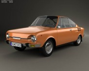 3D model of Skoda 110 R 1970