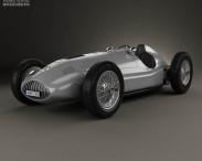 3D model of Mercedes-Benz W165 1939
