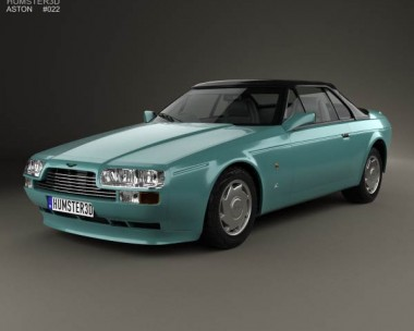 3D model of Aston Martin V8 Zagato 1987