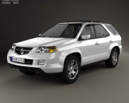 3D model of Acura MDX 2003