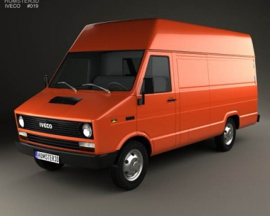 3D model of Iveco Daily Panel Van 1978