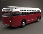 3D model of GM Old Look transit bus 1953