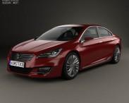3D model of Suzuki (Maruti) Ciaz Concept 2014
