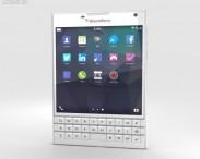 3D model of BlackBerry Passport White