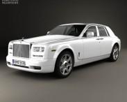 3D model of Rolls-Royce Phantom sedan 2012