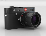 3D model of Leica M (Type 240) Black