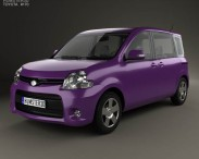 3D model of Toyota Sienta Dice 2011