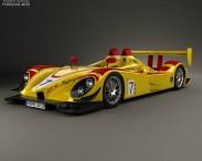 3D model of Porsche RS Spyder 2008