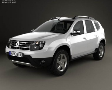 3D model of Renault Duster 2012