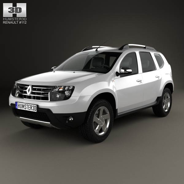 Renault Duster Interior 2012 Renault Duster 2012 3d Model