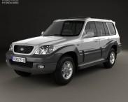 3D model of Hyundai Terracan 2004