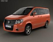3D model of Nissan Shuaike 2011
