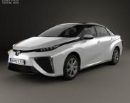 3D model of Toyota FCV 2015