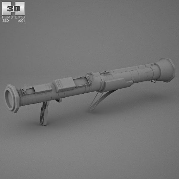 m136 at4 3d model humster3d