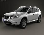 3D model of Nissan Terrano 2013