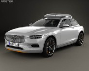 3D model of Volvo XC Coupe 2013