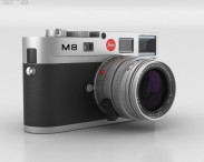 3D model of Leica M8 Silver