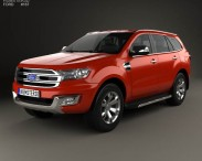 3D model of Ford Everest 2014