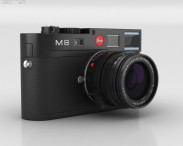 3D model of Leica M8 Black